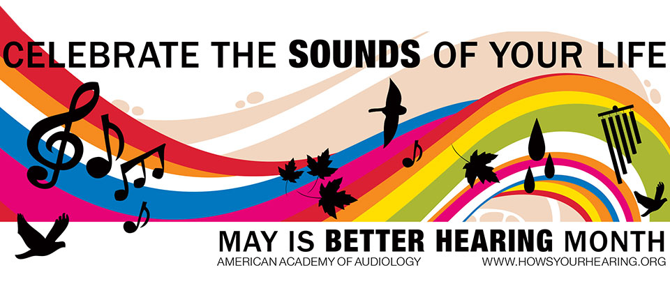 Better Hearing Month Banner - Sandia Hearing Aids