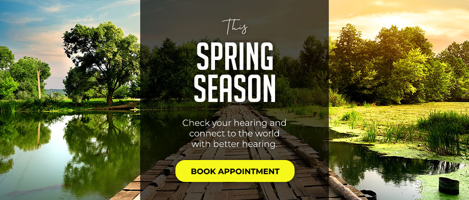 Spring Banner - Sandia Hearing Aids