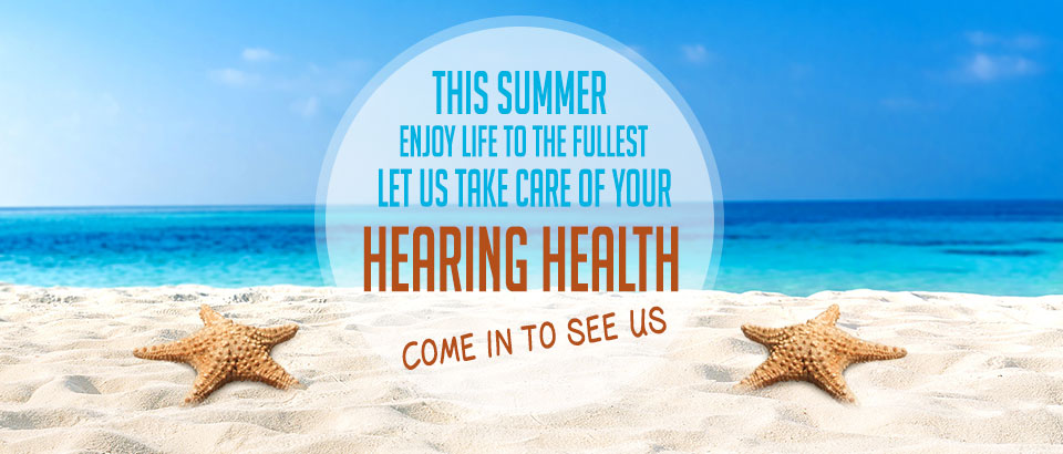 Summer Banner - Sandia Hearing Aids